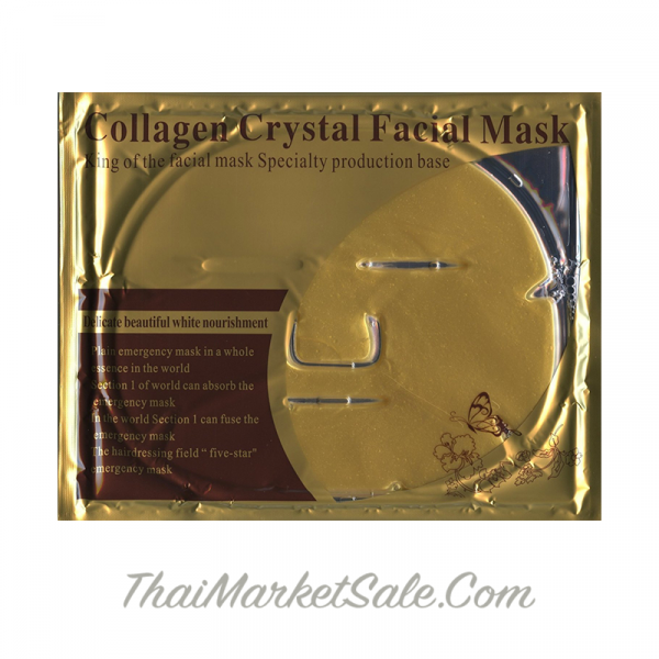 Collagen Crystal Face Mask Gold / Золотая Коллагеновая Маска для Лица ,60 г
