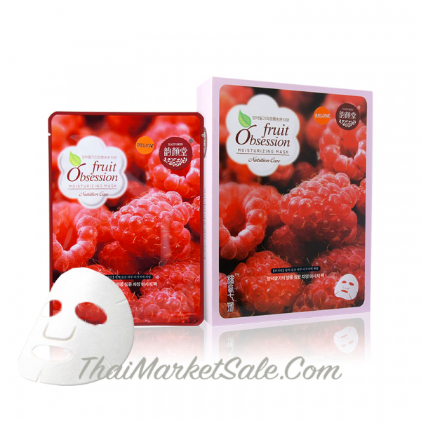 Fruit Obsession Moisturizing Mask Raspberry / Маска Для Лица с Экстрактом Малины , 30 г
