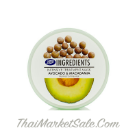 "Boots Avocado & Macadamia Intensive Hair Treatment for Fine & Fragile Hair / Интенсивная Маска Для Волос ""Авокадо и Макадамия"" ,400 мл"