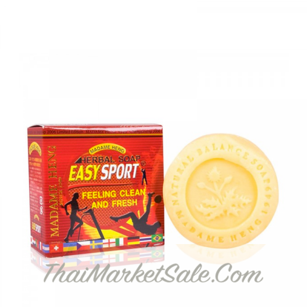 MADAME HENG Easy Sport Soap Herbal Active / Мыло Для Спортсменов ,150 гр