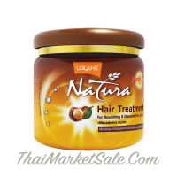Lolane Natura Treatment for Nourishining&Diamond Shine Booster +Macadamia Butter/ Маска Для Волос с Маслом Макадамии ,100 мл