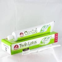 Twin Lotus Herbal Toothpaste Original / Антибактериальная Травяная Зубная Паста, 100 гр
