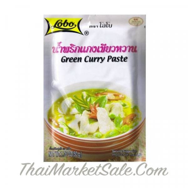 Зеленая паста Карри / Green Curry Paste ,50 гр